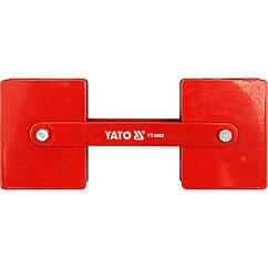 Магнитный Фиксатор(Струбцина)Для Сварки(85х65х22мм)2х22,5кг YATO (YT-0862)