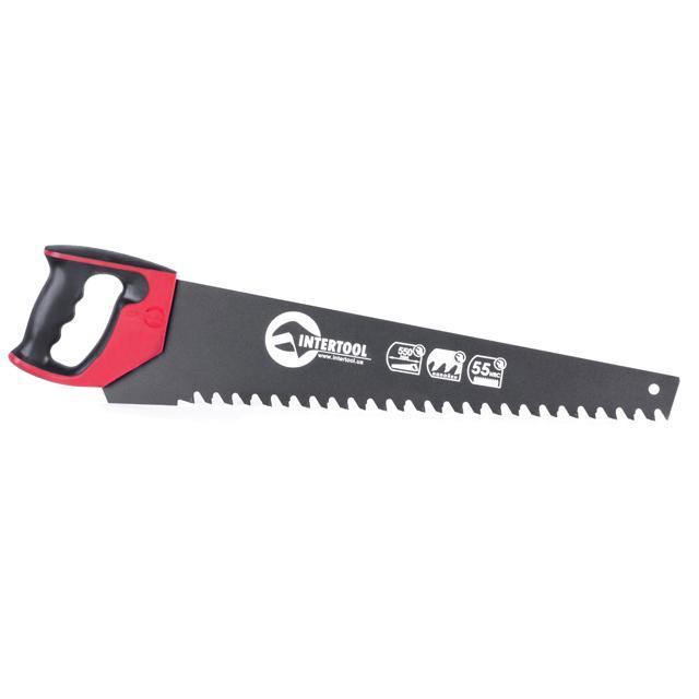 Ножівка по пінобетону 550 мм INTERTOOL HT-3131