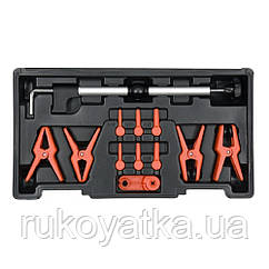 Щипцы(Клещи)Зажим Для Шланга(Патрубка)Провода(12шт)YATO YT-08392