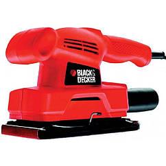 Вібраційна Шліфмашина(90х187мм)135Вт Black&Decker KA300-XK