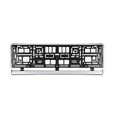 Рамка(Серебро)Номерного Знака Автомобиля(529х132х11мм)VOREL 83290