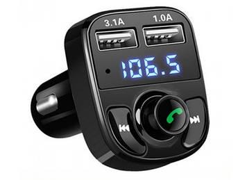 FM модулятор CAR X8+bluetooth