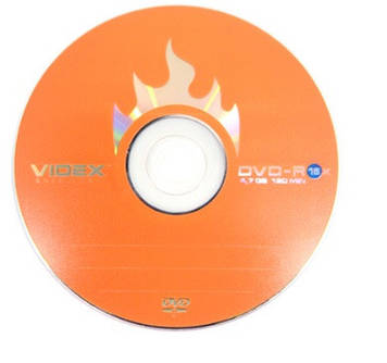DVD-R 16х 4.7 Gb/120min Videx bulk(10)