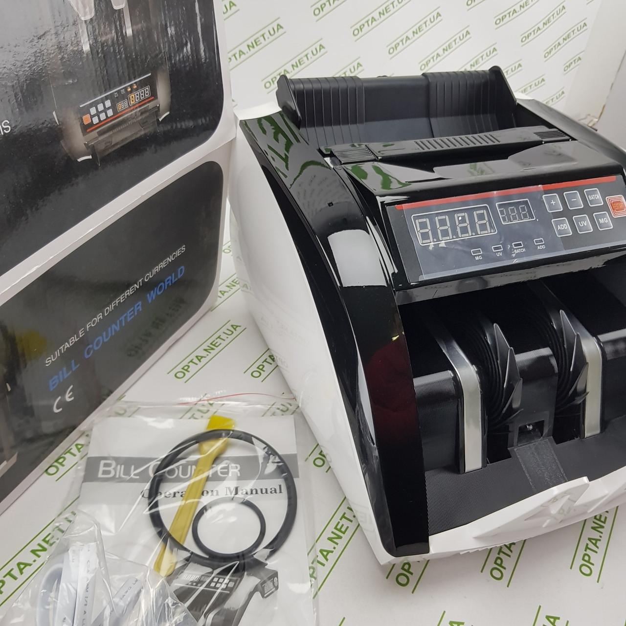 Счетчик банкнот 5800(206) UV/MG (ОРИГИНАЛ) 2 экрана