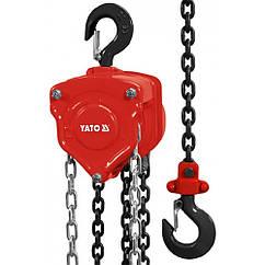 Таль Цепная(10000кг/3м)Ручная YATO YT-58957