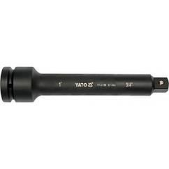 """Удлинитель с переходником 1""""- 3/4"""" 250 мм YATO YT-1169"""