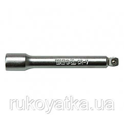 """Удлинитель наклонный с шаром 1/4"""" 101,6 мм YATO YT-1435"""