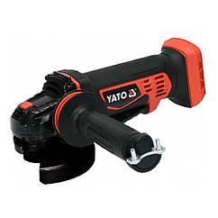 Аккумуляторная Болгарка(125мм)18В(Без Аккумулятора)УШМ Yato YT-82827