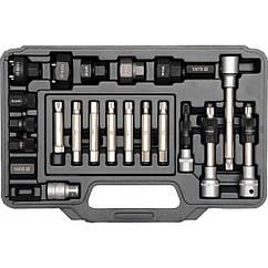 Съемник(Инструмент)Для Ремонта Автомобильных Генераторов Набор(Комплект)22 ед YATO YT-04211