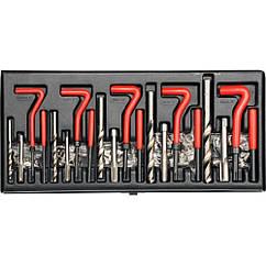 Инструмент Для Ремонта(Восстановления)Резьбы Набор(Комплект)131 шт YATO YT-1763