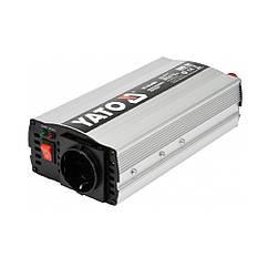 Автомобильный(Инвертор)12В/220В/500Вт Преобразователь Напряжения YATO YT-81490
