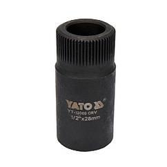 Ключ(Знімач)Голівка 28 мм Для Форсунковых Камер Двигунів Mercedes YATO YT-12005