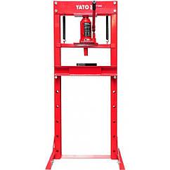 Гидравлический Пресс(20тонн)Напольный YATO YT-55581