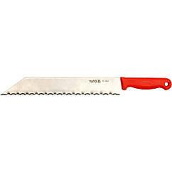Нож для строительной изоляции 480 мм YATO YT-7624