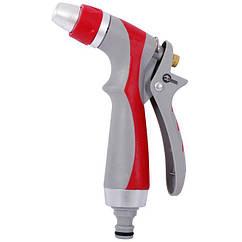 Пистолет-распылитель для полива с плавной регулировкой потока воды Luxury INTERTOOL GE-0017