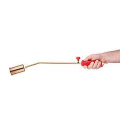 Кровельная Горелка(Газовая)Пропановая с Регулятором(1 Насадка L=595мм Dсопла=45мм)INTERTOOL (GB-0040)