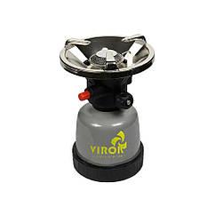 Примус Газовый(190гр)Туристический с Пьезоподжигом Virok 44V140