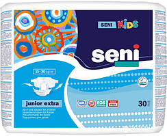 Подгузники детские одноразовые Seni Kids Junior Extra 30 шт (5900516693176)