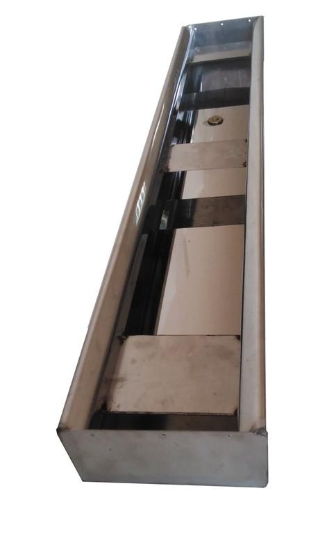 Профиль система для охлаждающих панелей на 0,6 метров. Нижняя часть.