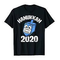 """Футболка з новорічним принтом """"Hanukkah 2020"""" Push IT"""