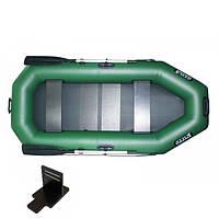 Надувная лодка Ладья ЛТ-250А-СТ, 30 см баллон, со слань-ковриком, навесной транец