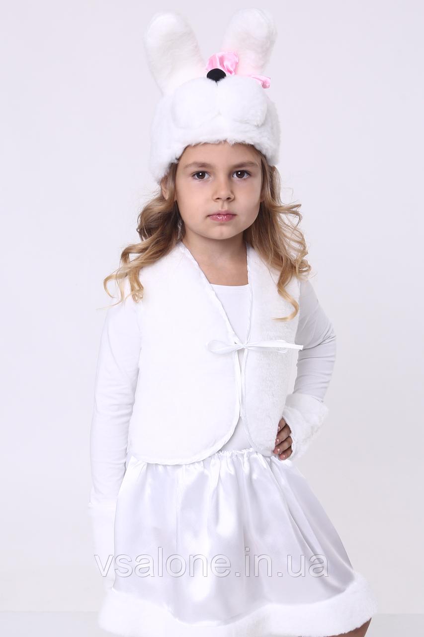 Детский карнавальный костюм для девочки Зайка№1