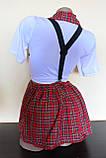Эротический костюм школьница сексуальний комплект білизни, фото 3