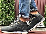 Зимние теплые ботинки в стиле Reebok серые, фото 6