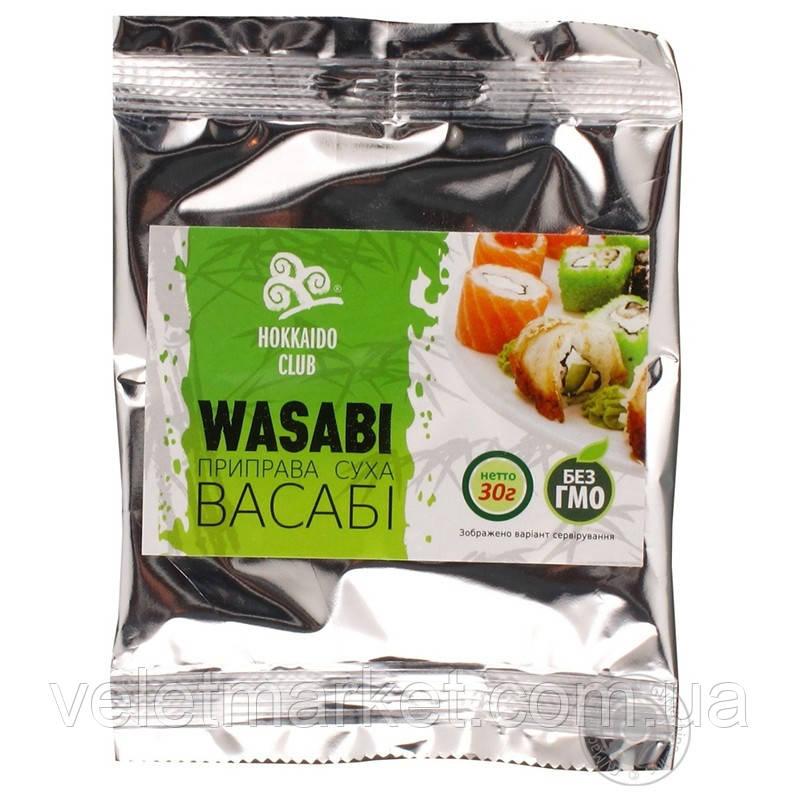 Васабі Hokkaido Club 30г м/уп для суші