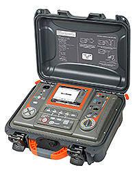 Мегаомметр MIC-15k1UA, вимірювач опору електроізоляції до 40 ТОм напругою до 15000В