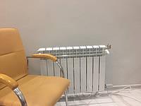 Электробатарея алюминиевая с тэном,с датчиком температуры воздуха электро терморегулятором ТЕПЛОВДОМ (Польша)
