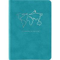 Книга записная Axent Nuba Soft, А6+, 115х160мм, 96 листов в клетку гибкая обложка