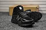 Мужские зимние кроссовки New Balance 990 Black Reflective Winter, фото 3