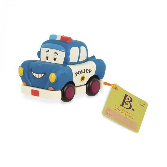 Машинка Инерционная - Полиция Battat BX1497Z