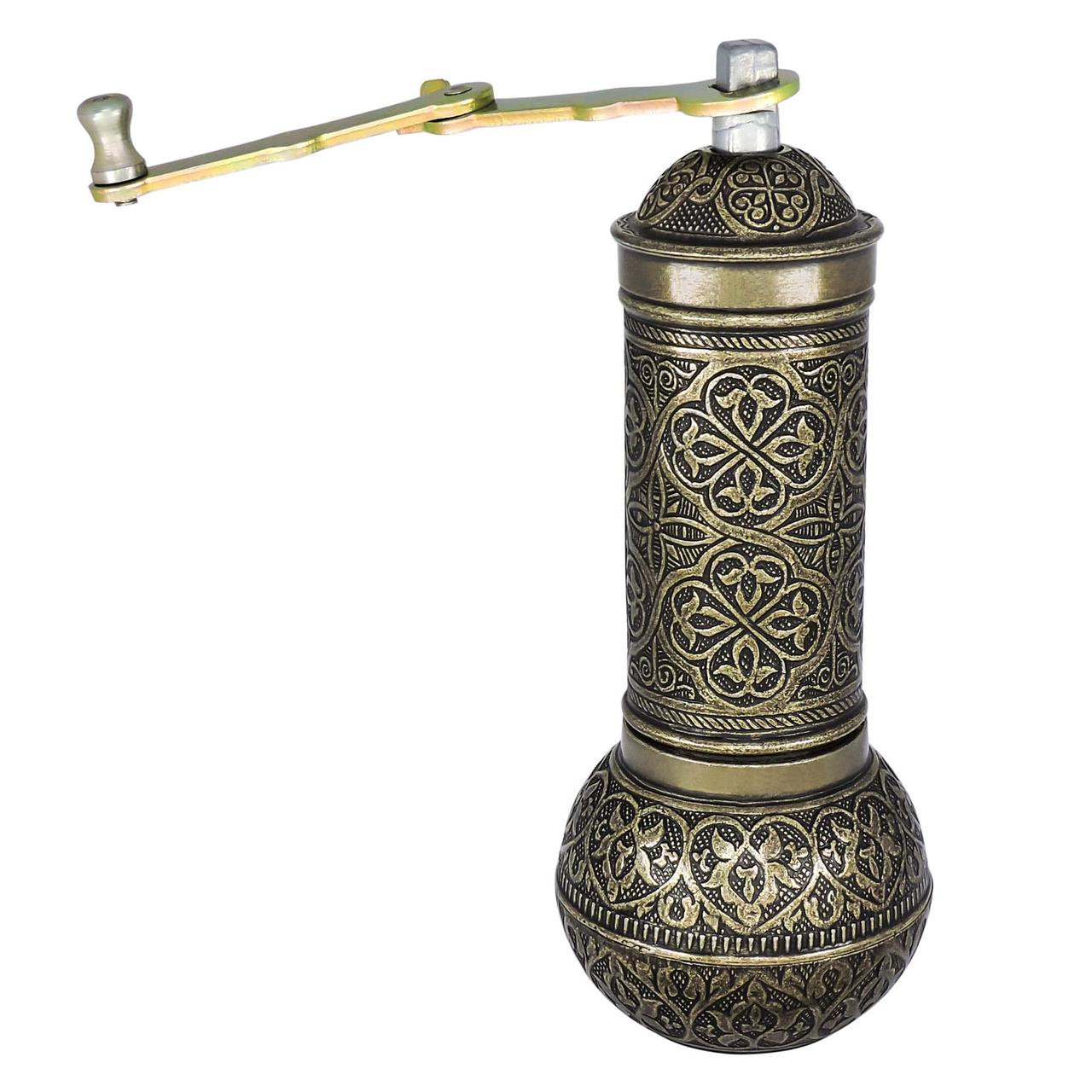 Кофемолка ручная механическая жерновая «1001 ночь», медный цвет (509)