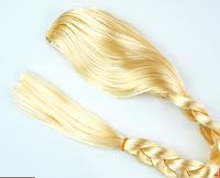 Карнавальный парик Коса Эльзы блонд 80 см, фото 1