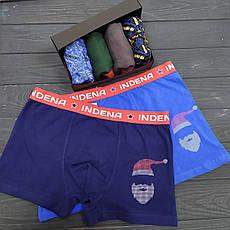 Подарочный Новогодний набор мужского белья INDENA Арт.9046, фото 2