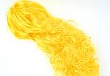 Карнавальный парик волна 50 см (красный, синий, желтый, салатовый), фото 2