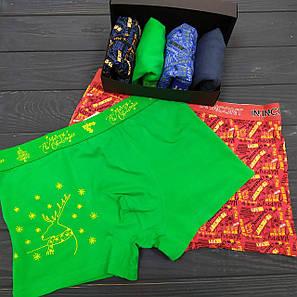 Подарочный Новогодний набор мужского белья INDENA Арт.3528, фото 2