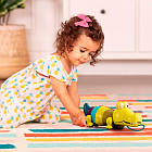 Іграшка-Каталка На Мотузочці - Крокодил Клац-Клаус Battat BX1674Z, фото 2