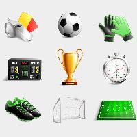 Фотобутафория Футбольная 9 элементов