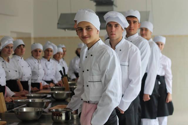 проект модернізації лабораторії кухарів з дегустаційним залом