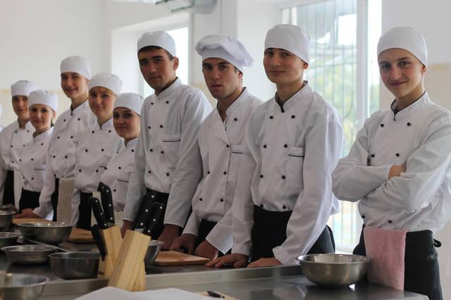 проект модернізації лабораторії кухарів з дегустаційним залом 1
