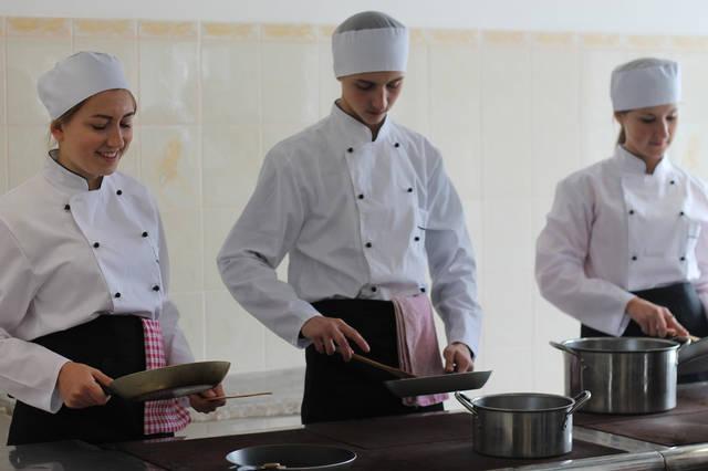 проект модернізації лабораторії кухарів з дегустаційним залом 3