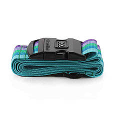 Багажный ремень-крепление на чемодан Travel Blue 3 циферблата Разноцветный (047P), фото 3