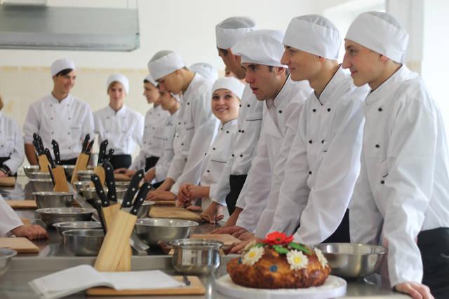 проект модернізації лабораторії кухарів з дегустаційним залом 5