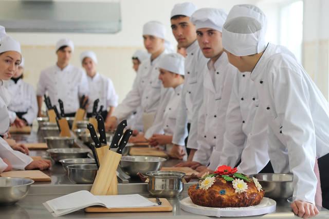 проект модернізації лабораторії кухарів з дегустаційним залом 6