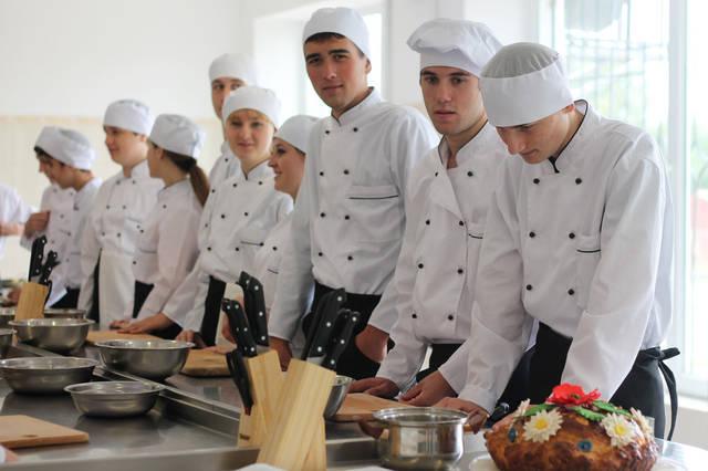 проект модернізації лабораторії кухарів з дегустаційним залом 8