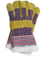 Перчатки рабочие теплые замшевые RSO (Reis)