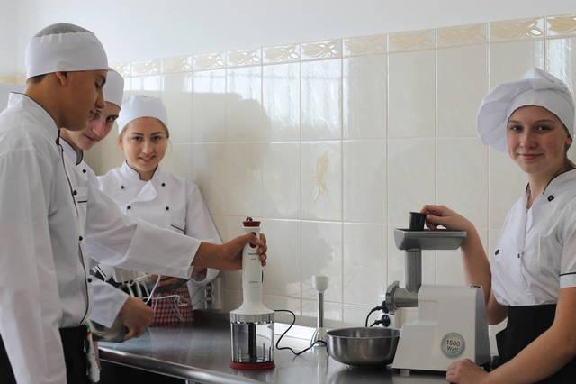 проект модернізації лабораторії кухарів з дегустаційним залом 9